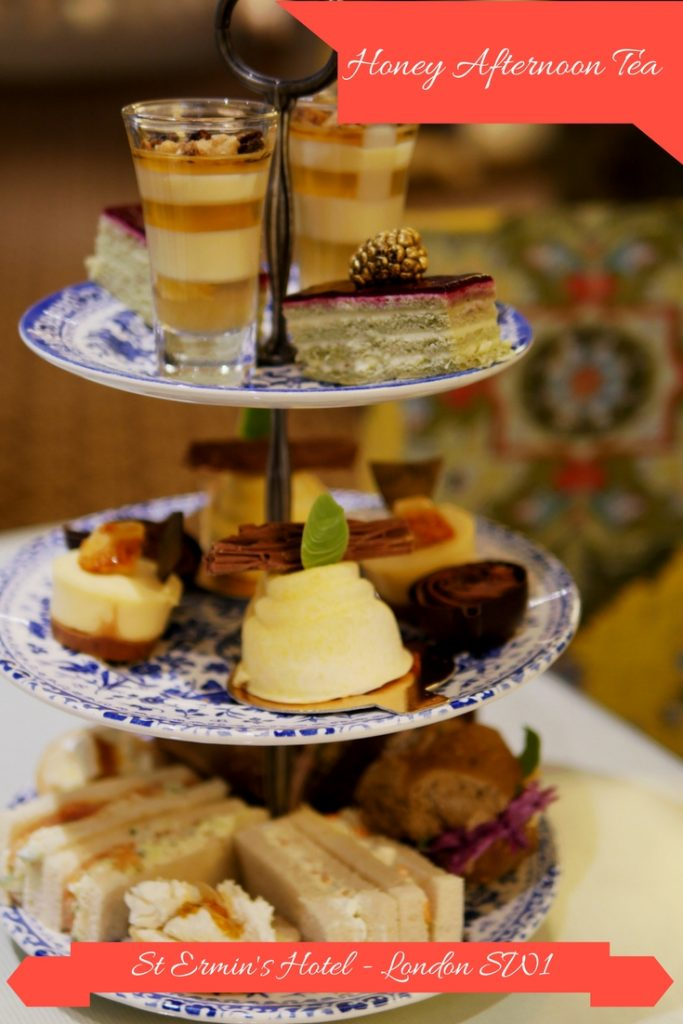 Honey Afternoon Tea - St Ermin's Hotel, London SW1