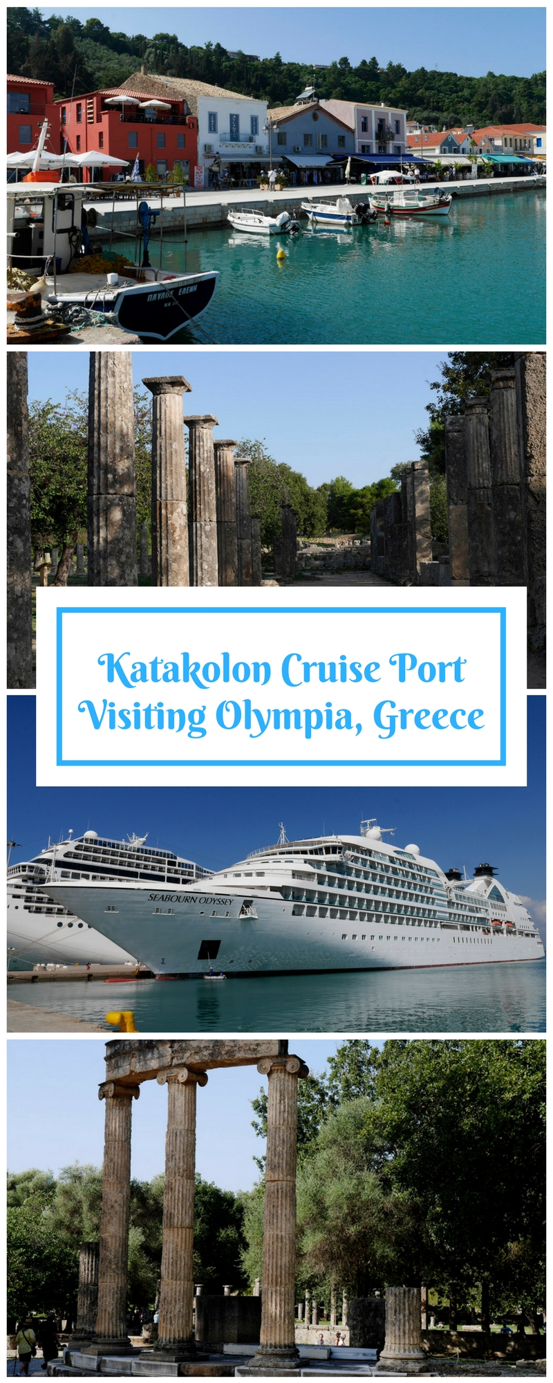 Katakolon Cruise Port Olympia Greece