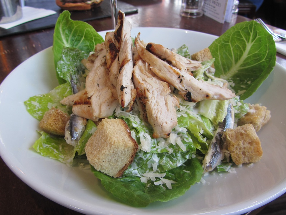 Manor Arms - chicken ceasar salad