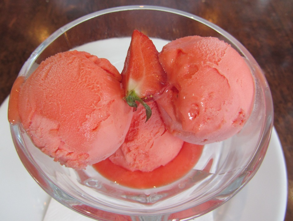 Manor Arms - blood orange sorbet