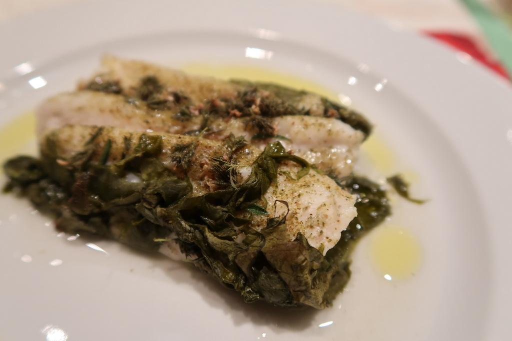 Molí del Casó - fish and herbs dinner