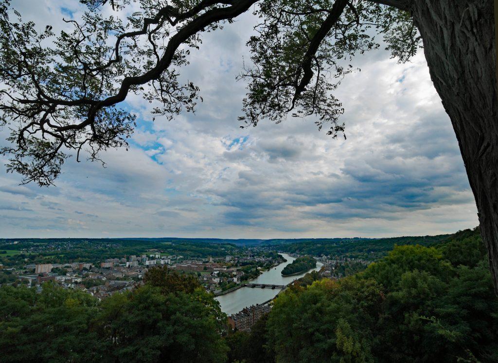 Namur from Citadel 2