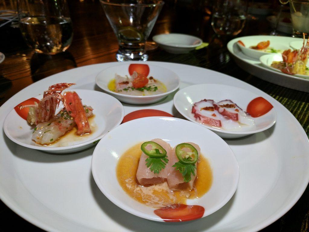 Nobu Doha 4 Ways Sashimi