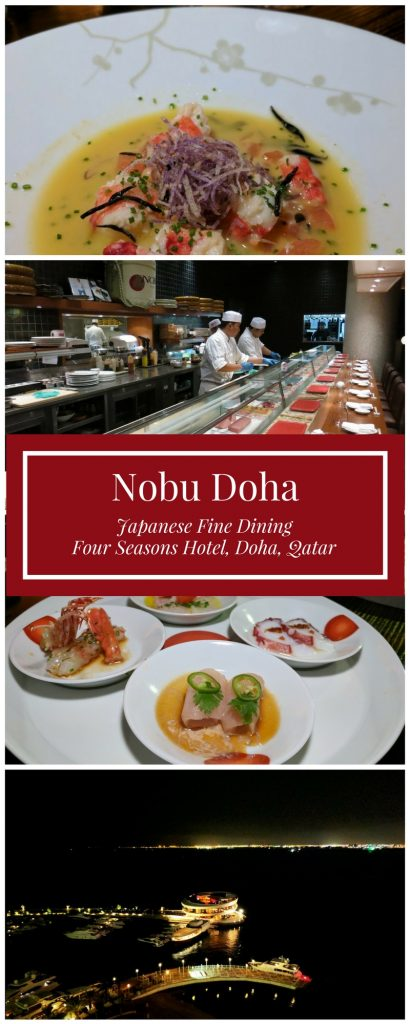 Nobu Doha - Japanese Fine Dining at Four Seasons Hotel Doha Qatar