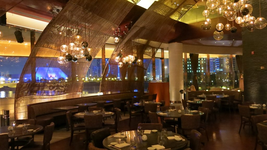 Nobu Doha Main Dining Area