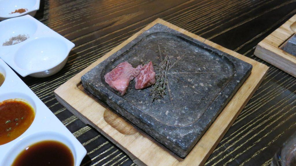 Nobu Doha Omi Beef Ishiyaki