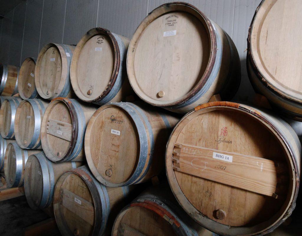 Oak Barrels Domaine du Ry dArgent Wallonia