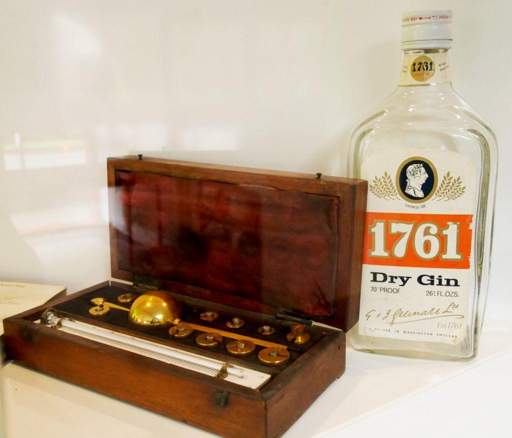 Old Gin at Greenalls Distillery