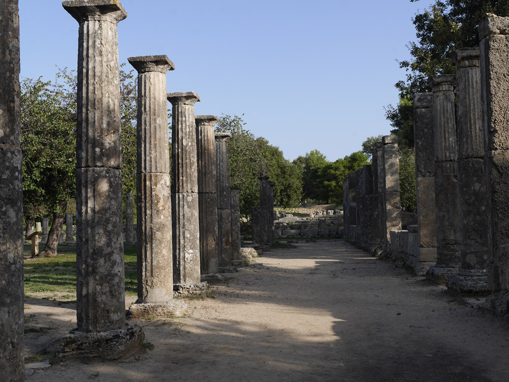 Palastra at Olympia