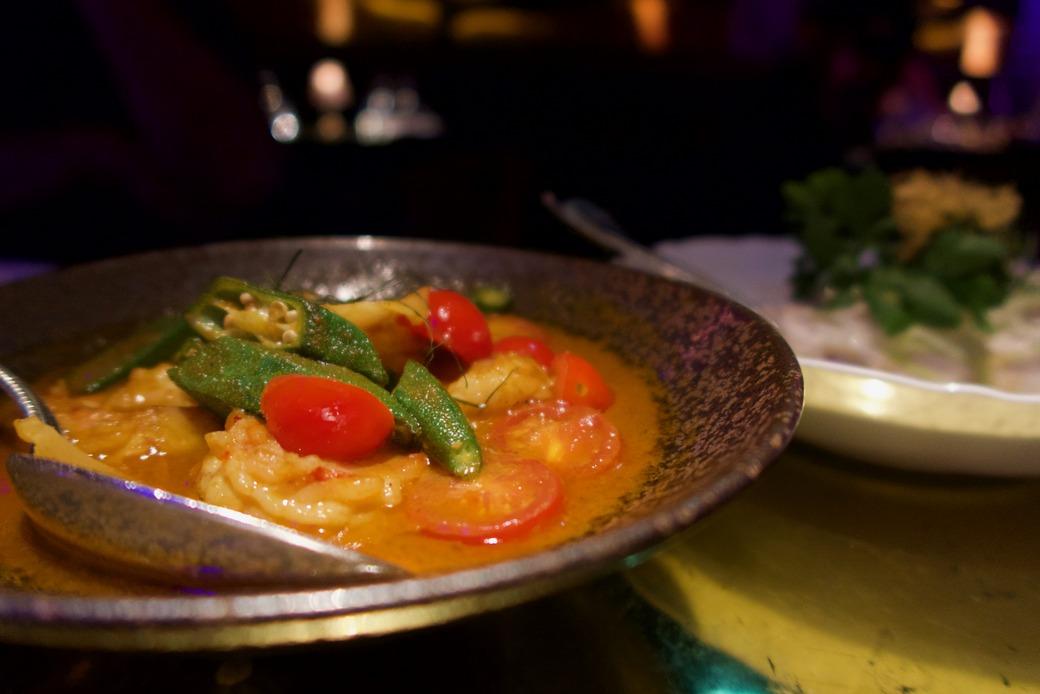 Park Chinois Prawn curry