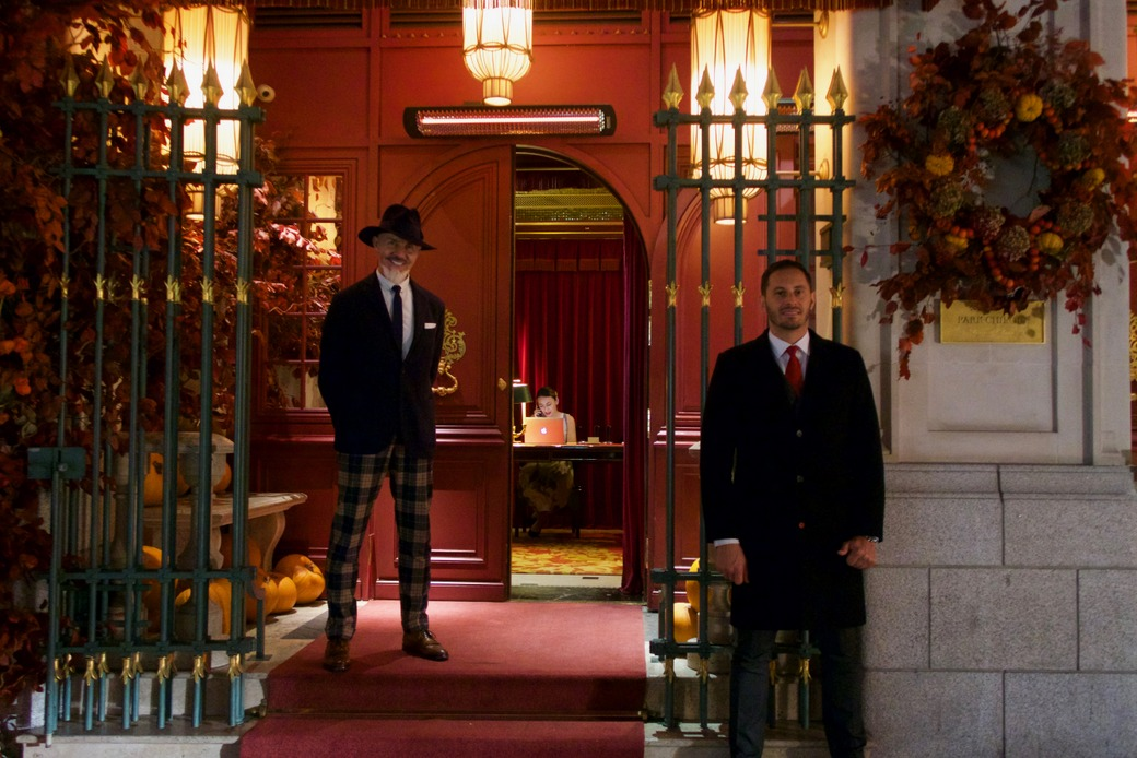 Park Chinois - The concierge