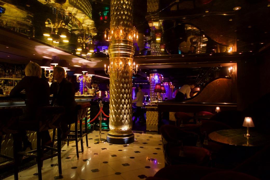Park Chinois - bar area