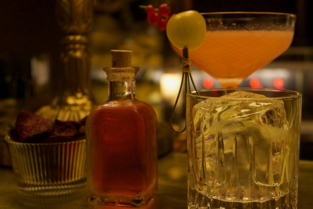 Park Chinois - cocktail time