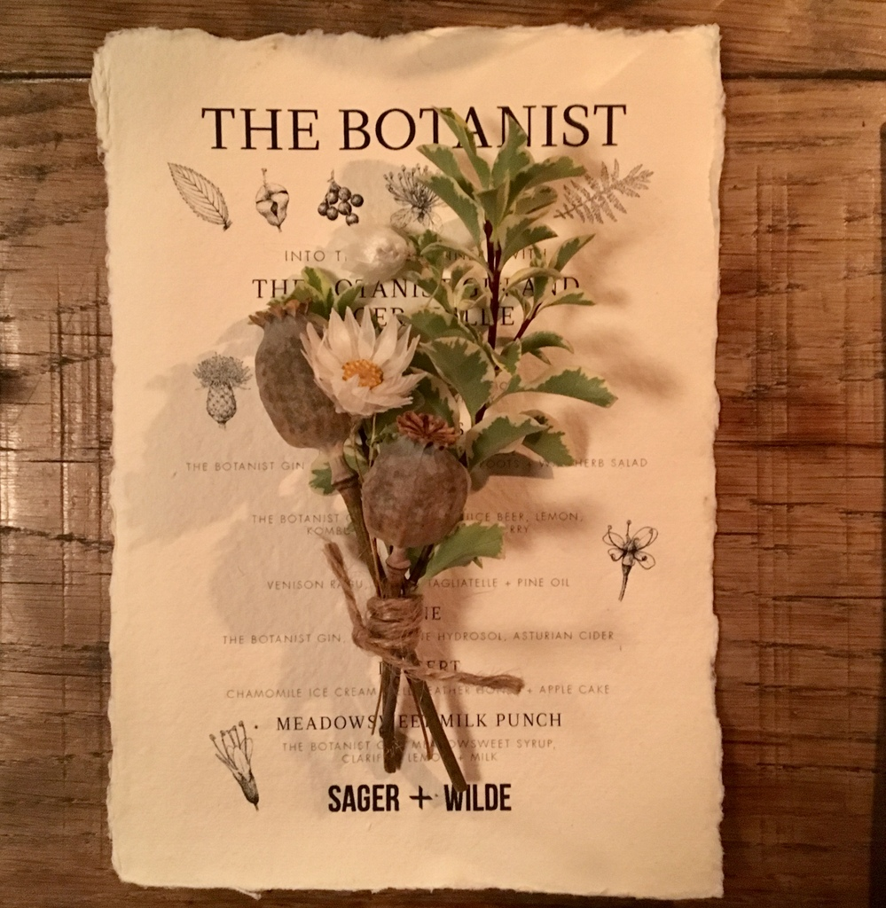 The Botanist at Sager + Wilde