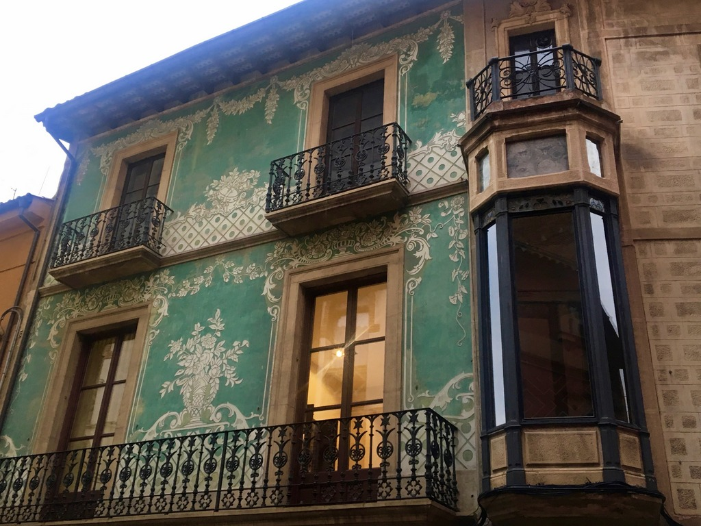 Vic - traditional Catalan house