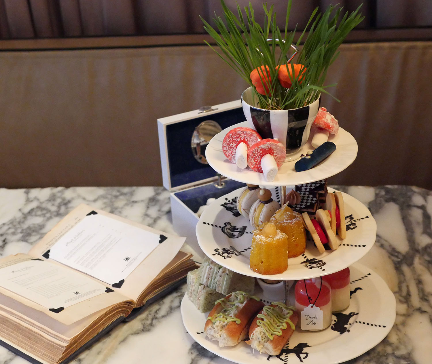 Afternoon Tea at the Sanderson Hotel