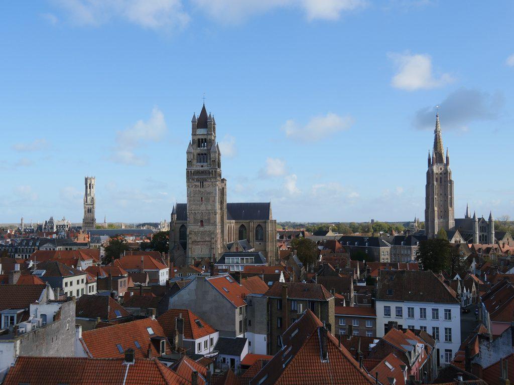 Bruges Concertgeboewn Rooftops