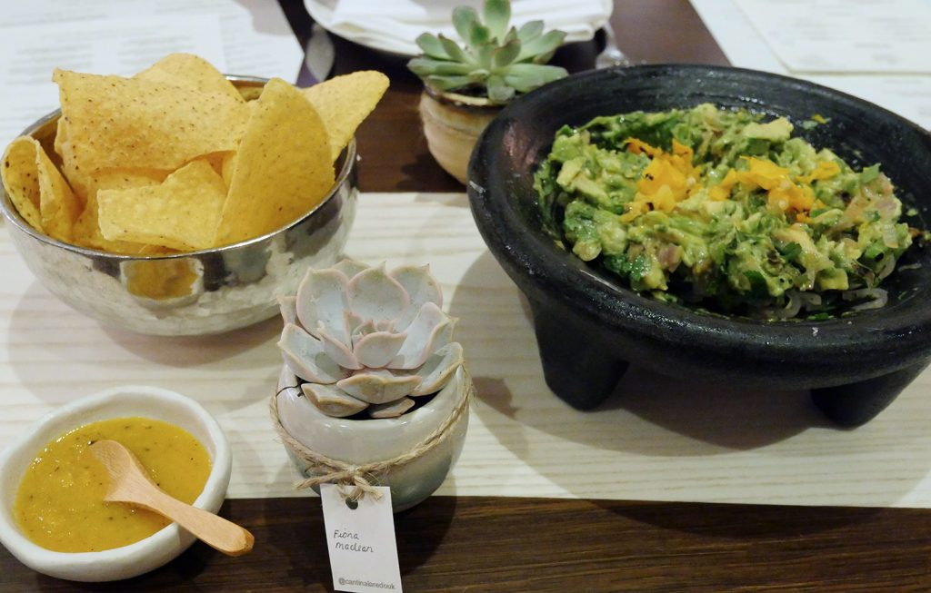 Cantina Laredo - guacamole