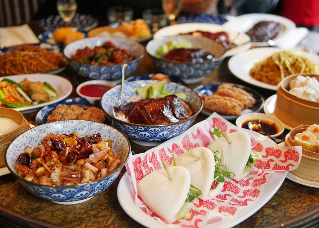 Chinese Feast at Duck and Rice - Copy