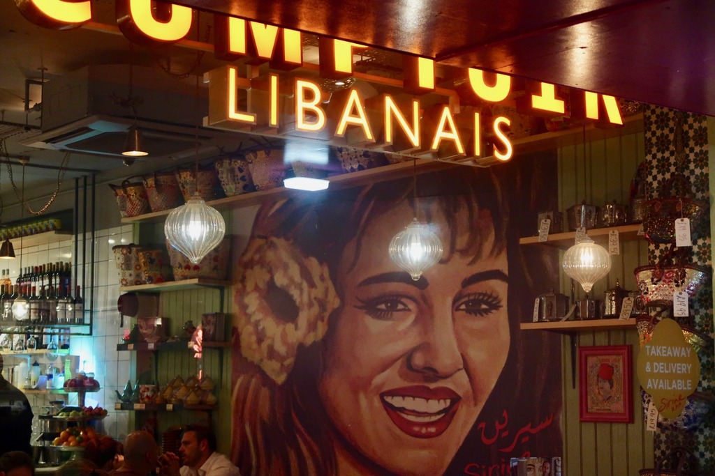 Comptoir Libanais - window