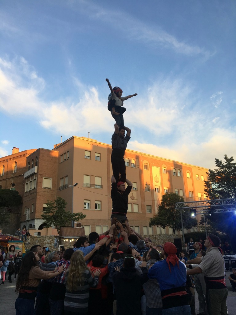 Human tower in Catalonia
