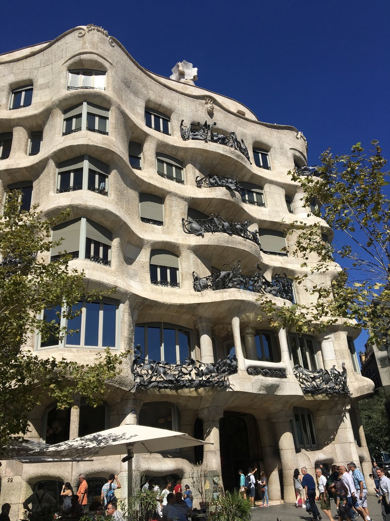 Casa Milà on Passeig de Gràci