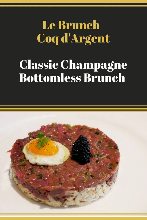 Le Brunch - Coq d'Argent - Classic Champagne Bottomless Brunch _ City of London Brunch _ Bottomless Brunch _ Champagne Brunch London