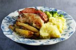 Roast Partridge with Thyme and Pear