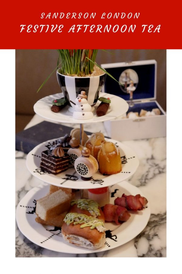 Sanderson London Festive Mad Hatters Afternoon Tea (1)