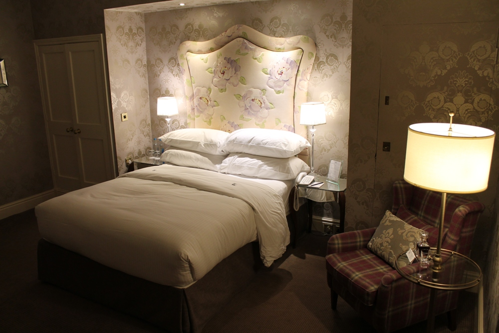 Stapleford Park - our bedroom