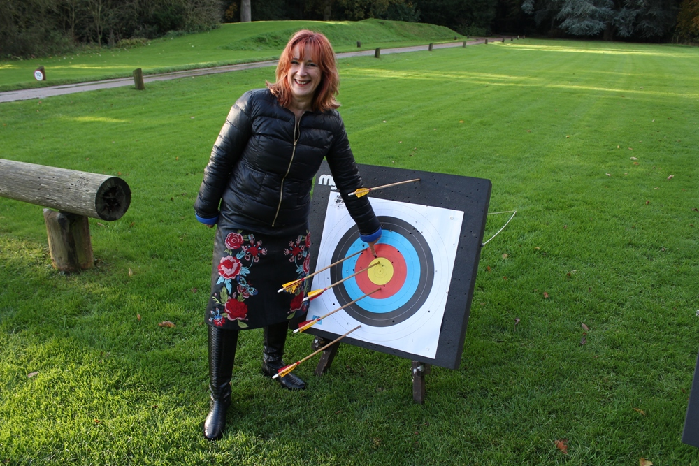 Stapleford Park - Archery lesson