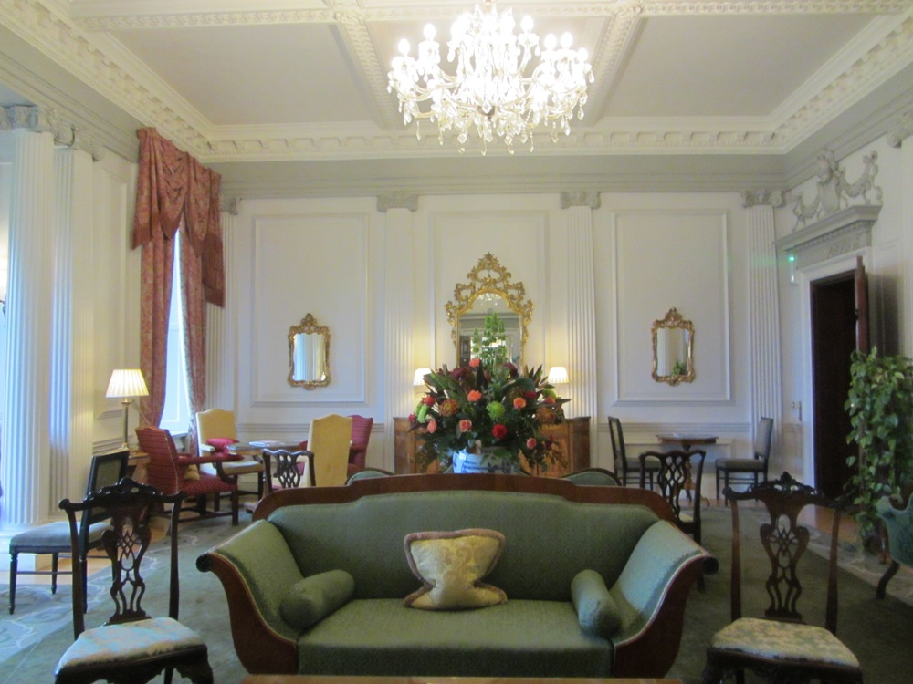 Stapleford Park - lounge