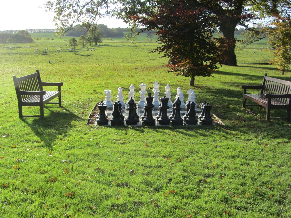 Stapleford Park - outdoor chess