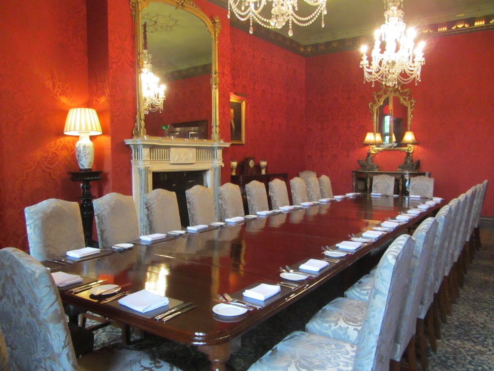 Stapleford Park - private dining
