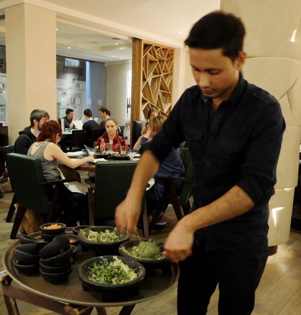Tableside Guacamole Service - Cantina Laredo