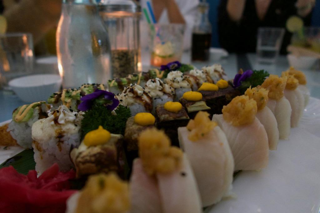 Temakinho sushi rolls