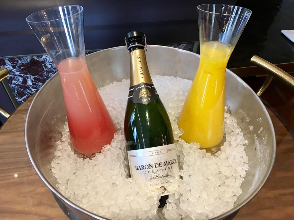 The Balcon champagne