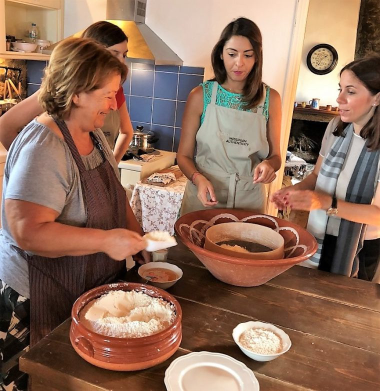Traditional cookery class Costa Navarino Cultural Weekend