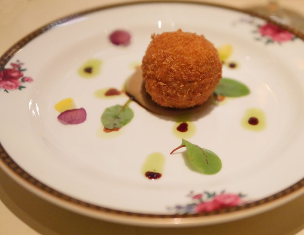 Arancini - Langham Festive Afternoon Tea
