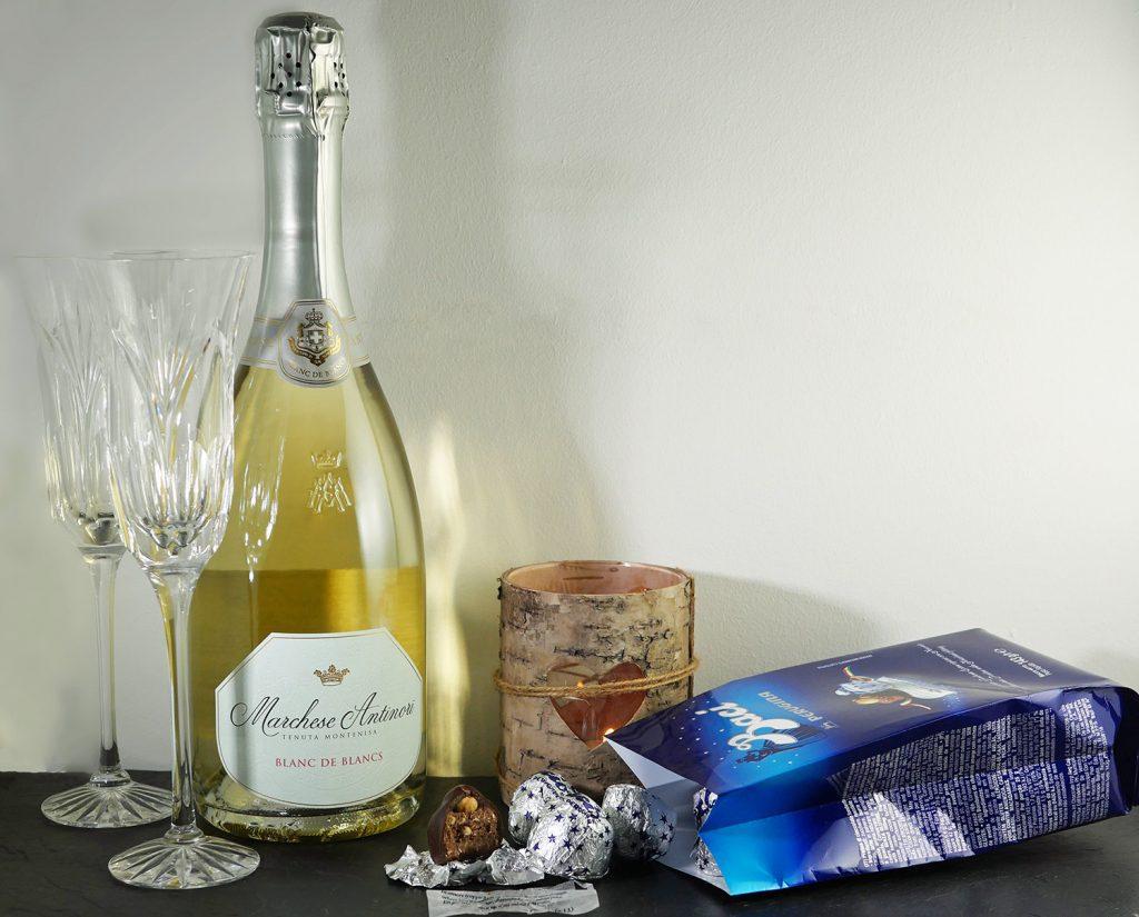 Baci and Franciacorta Valentines Italian