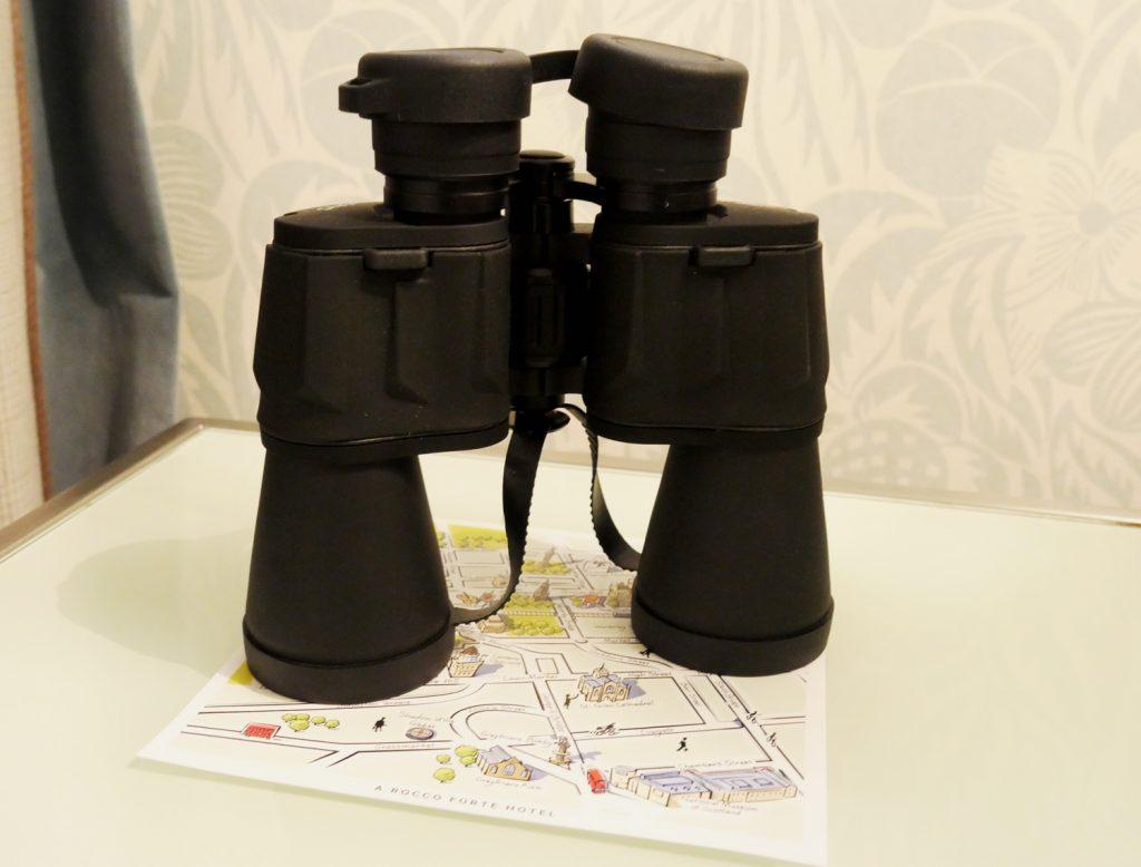Binoculars Room Balmoral Hotel Edinburgh