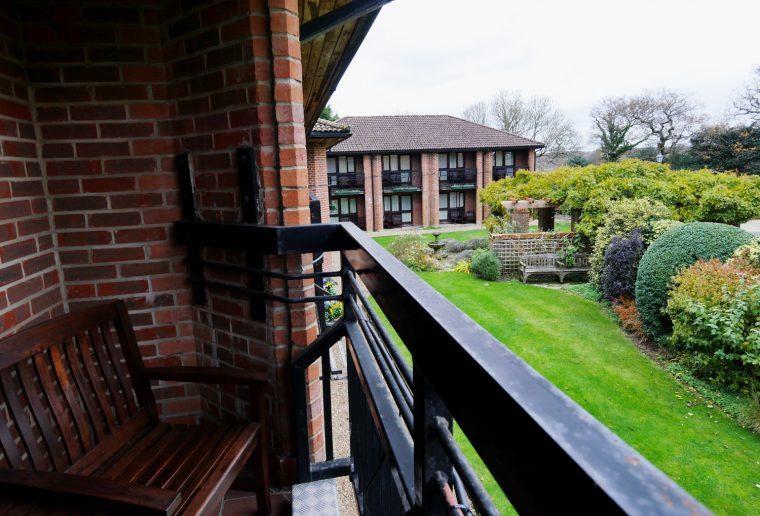 Careys Manor Balcony