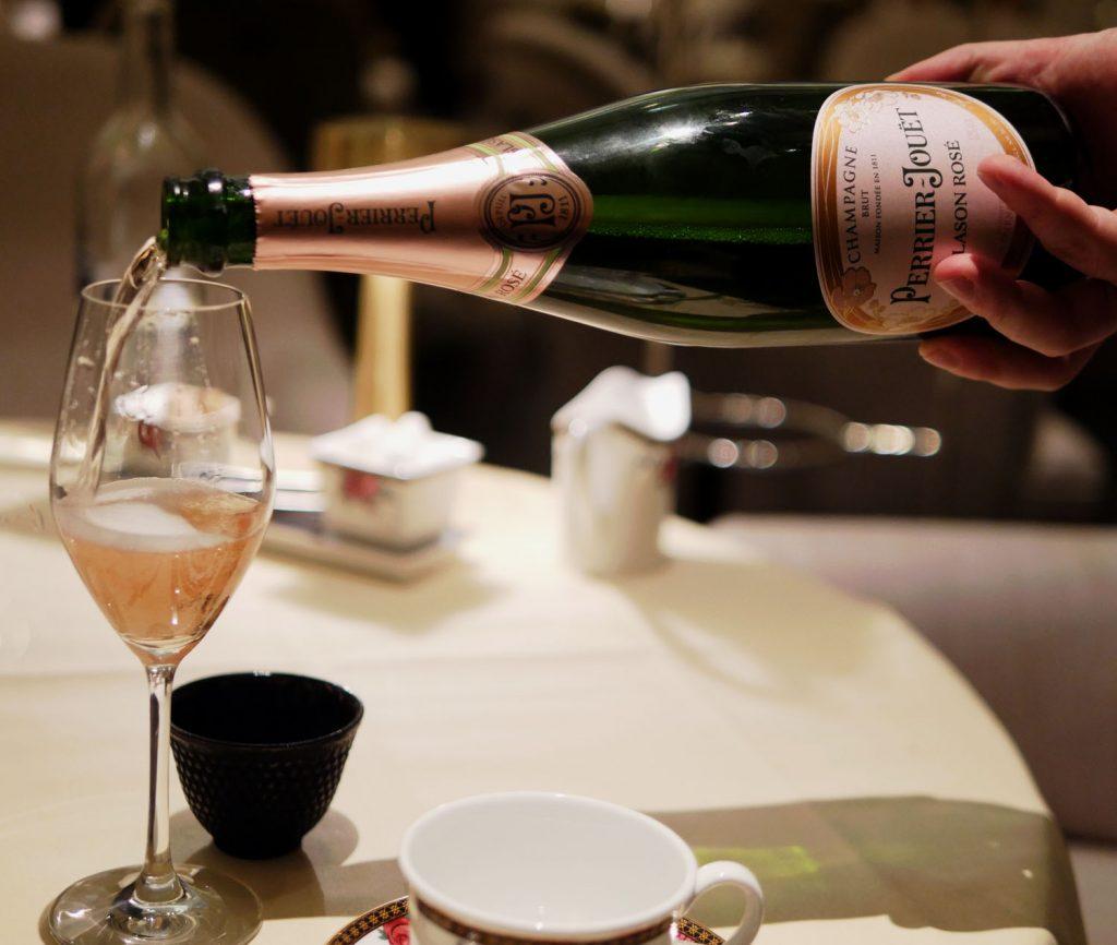 Champagne - Langham Hotel Festive Afternoon Tea