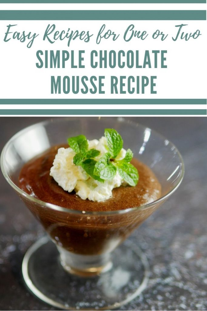 Chocolate Mousse Easy Recipe