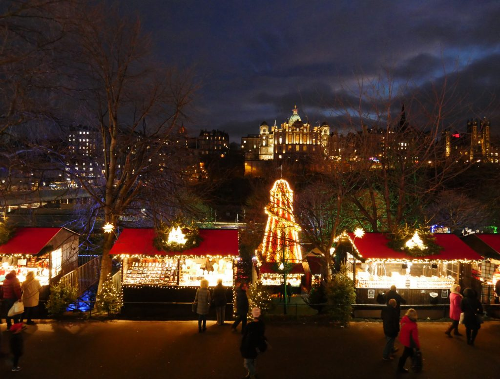 Christmas Market - Edinburgh 2017