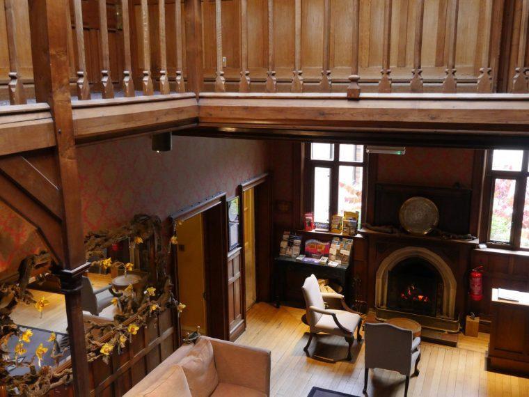 Entrance Lobby Careys Manor
