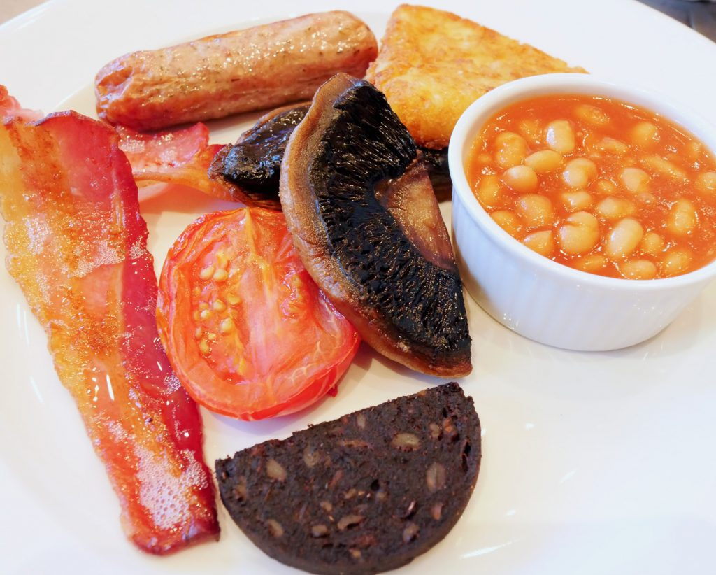 Felix Hotel Cambridge - Breakfast - Full English
