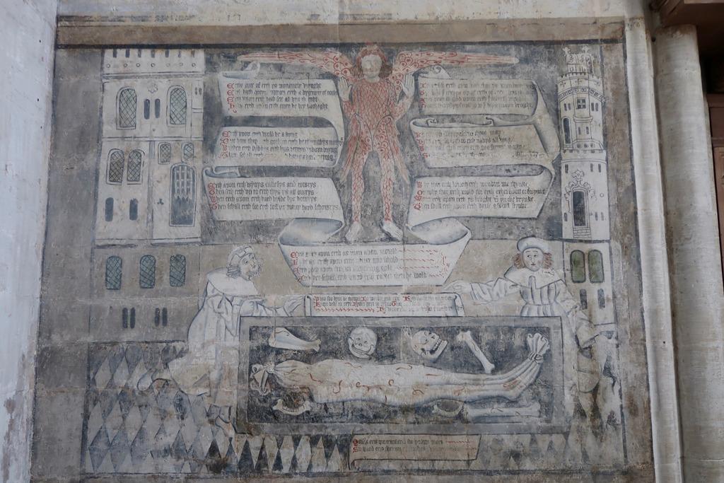 Stratford Guild Chapel wall painting
