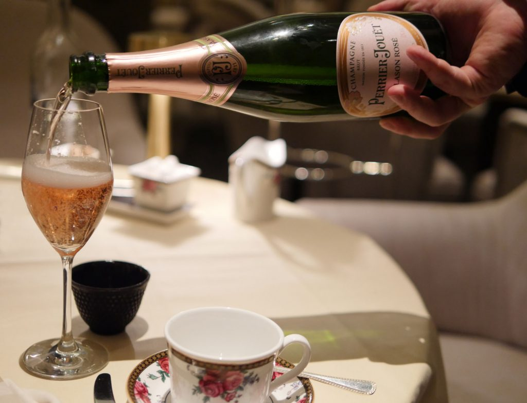 Langham Hotel Champagne Afternoon Tea