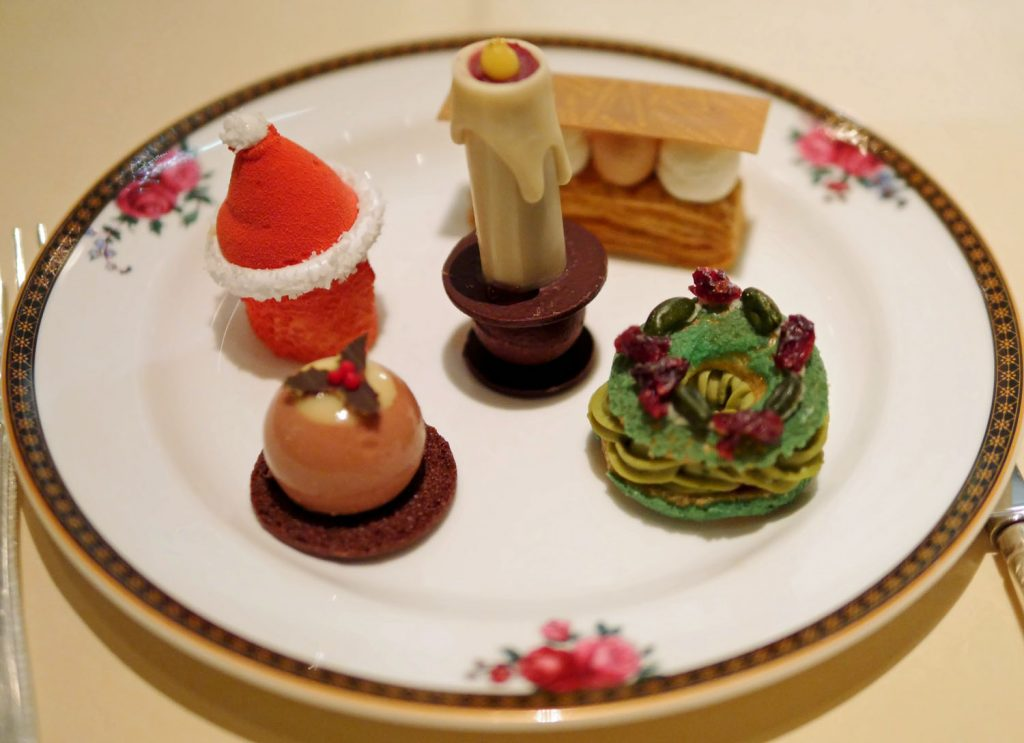 Langham Hotel Festive Afternoon Tea Fancies